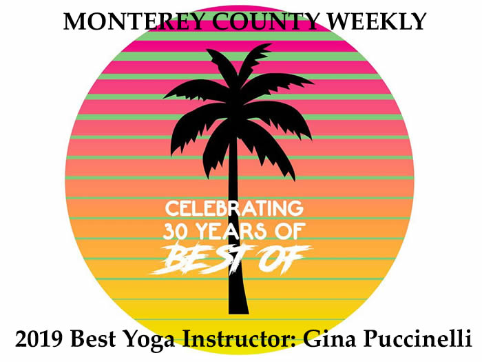 Monterey County Weekly Best Of Honors Gina!